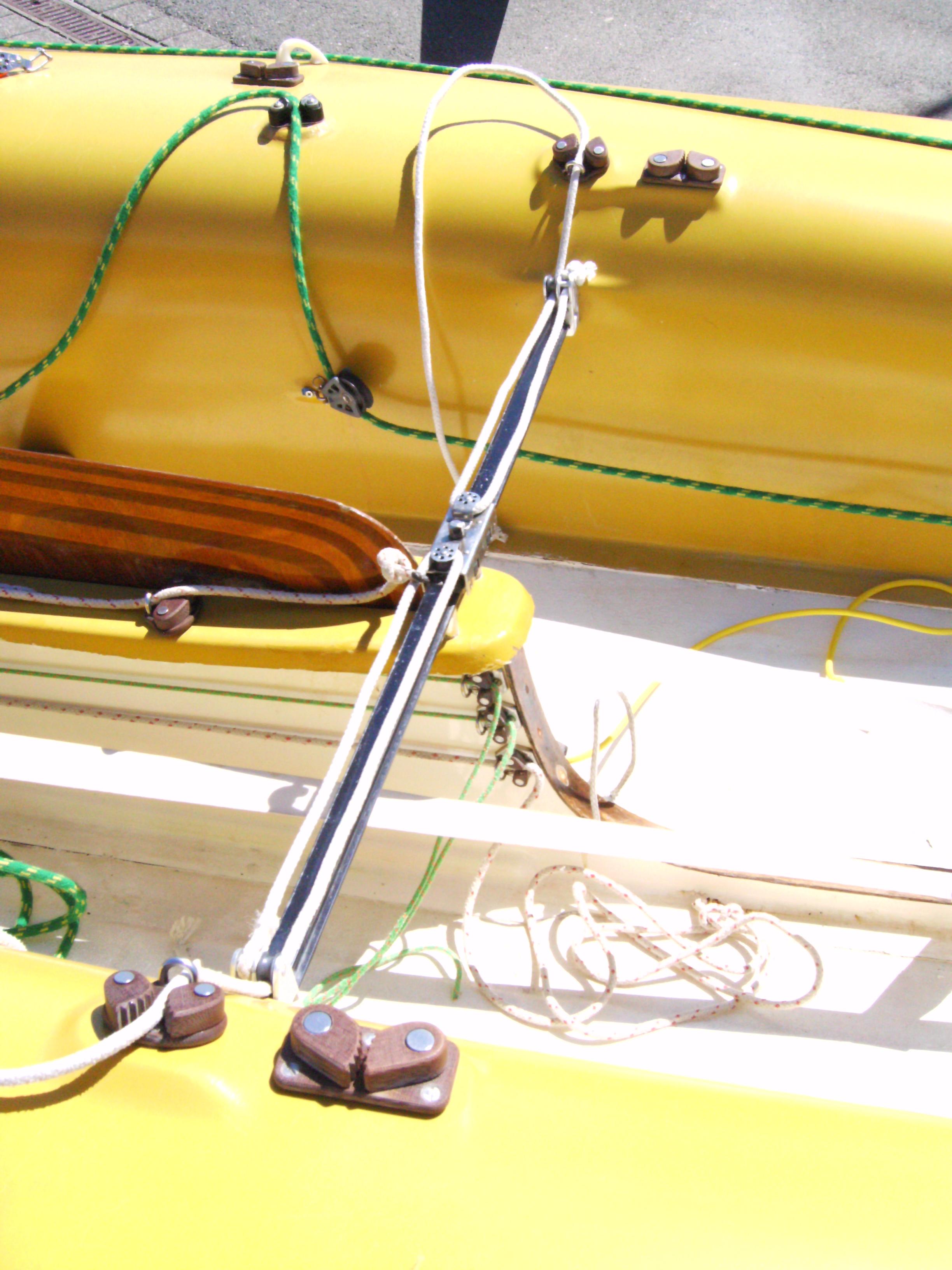 Vue du puits de dérive et du caisson